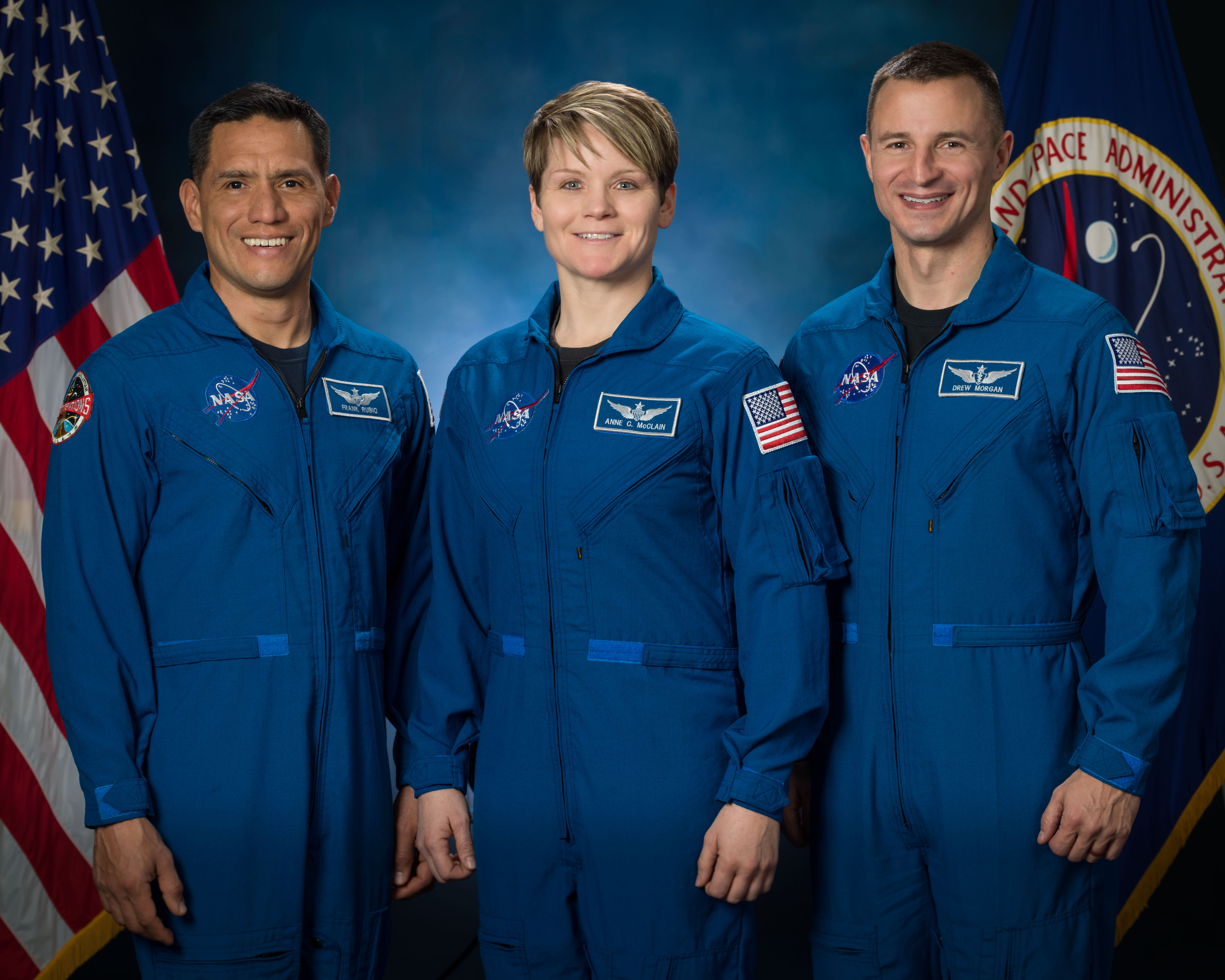 NASA Army astronauts and astronaut candidate